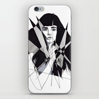 All Of My Dreams Are Mem… iPhone & iPod Skin