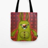 Bunny rag doll  Tote Bag