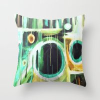 recklessly  Throw Pillow