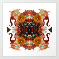 Lucid Loon Innovate Art Print