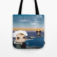 Deery Fairy in Hot Spring Tote Bag