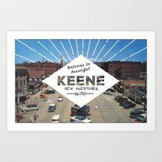 Welcome to Keene Art Print