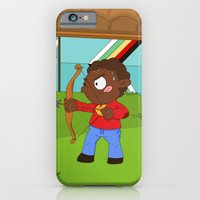 iPhone & iPod Case featuring Olympic Sports: Archery by Alapapaju