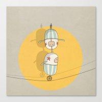 Circus 003 Canvas Print