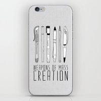 Weapons Of Mass Creation iPhone & iPod Skin