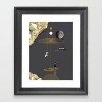 The Landing Framed Art Print