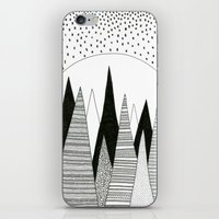 Moonlight Forest (pen On… iPhone & iPod Skin