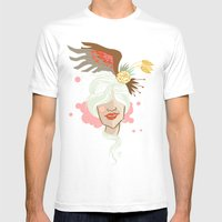 Secret Garden Mens Fitted Tee White SMALL