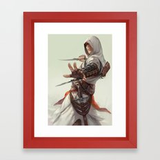 AC Framed Art Print