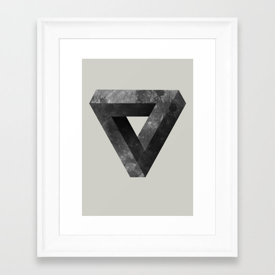 Lunar Framed Art Print
