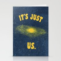 It's Just Us. Stationery Cards
