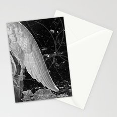 A Very Old Man with Enormous Wings Stationery Cards
