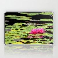 Lilies on Lake hope Laptop & iPad Skin