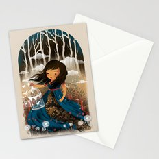 There Once Was A Girl In A Whimsical Land Stationery Cards