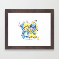 No one gets left behind. Framed Art Print