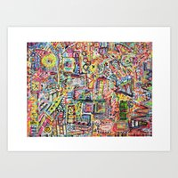 Adventures in Everything Art Print