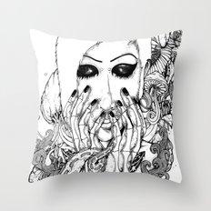 goth love Throw Pillow