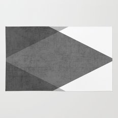Black And White Triangle… Rug