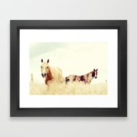 Sweetness of Paradise Framed Art Print
