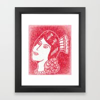 Lady From Spain Framed Art Print