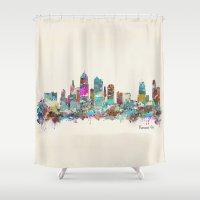 Kansas City Missouri Sky… Shower Curtain