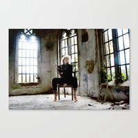 Where Dreams And Reality… Canvas Print