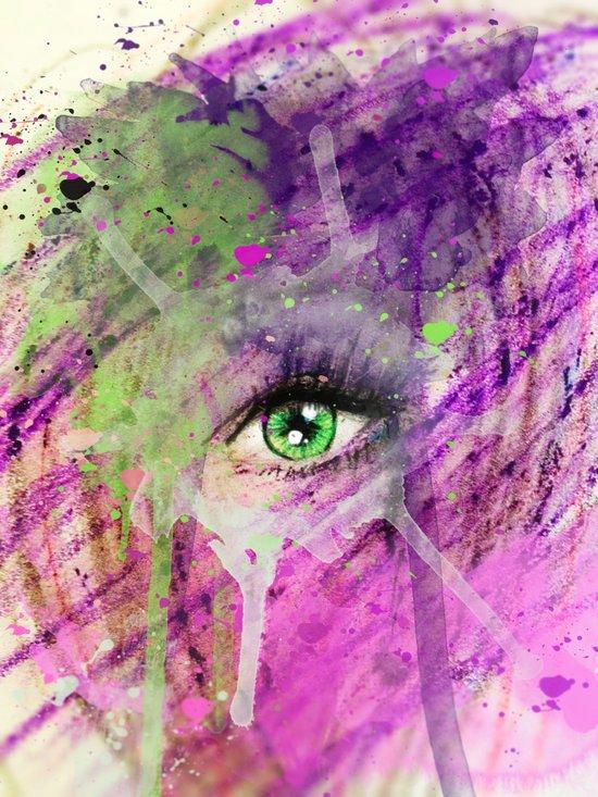 The eye of madness... Art Print