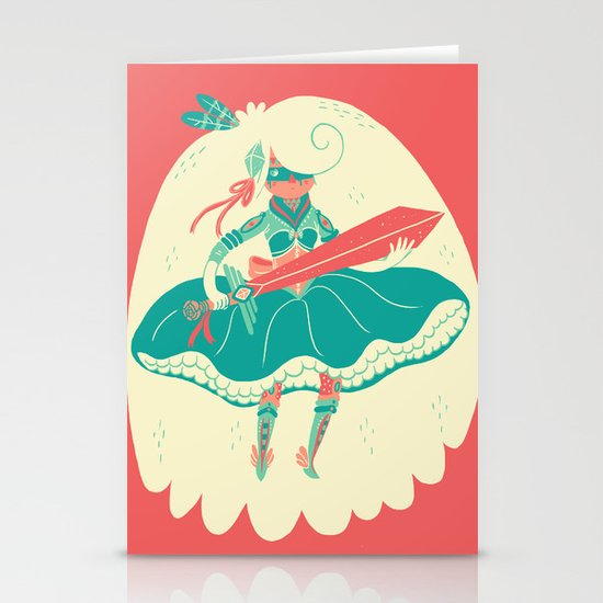 Magical Ass Kicker Stationery Card