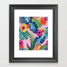 Tropic Dream Framed Art Print