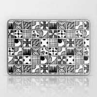 Black And White Abstract… Laptop & iPad Skin