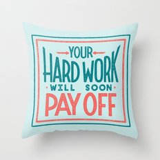 Fortune Cookie Wisdom Throw Pillow