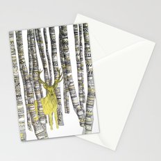 The Golden Stag Stationery Cards