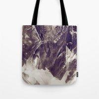 Black Crystal Tote Bag