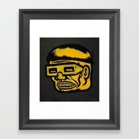 Dr.Cog Framed Art Print