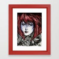 Isura (lilyneck Portrait… Framed Art Print