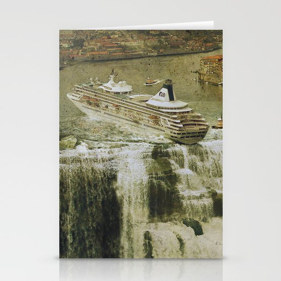 The Edge of the World Stationery Card