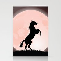 Moon Rider Stationery Cards