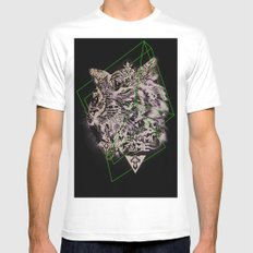 Venom Fame SMALL White Mens Fitted Tee