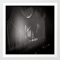Stage Curtain Art Print