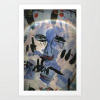 Blue John Art Print