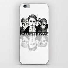 The Raven Boys iPhone & iPod Skin