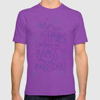 Haikuglyphics - Dear Som… Mens Fitted Tee Ultraviolet SMALL