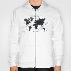 The World Map Hoody