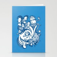 ILLOGICAL MADNESS Stationery Cards
