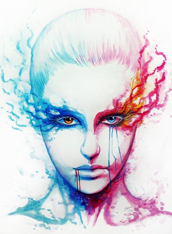 """Bipolarity"" Canvas Print"