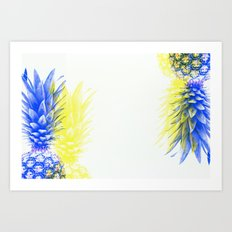 Pineapple Infusion Art Print