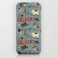 I Love Country iPhone 6 Slim Case