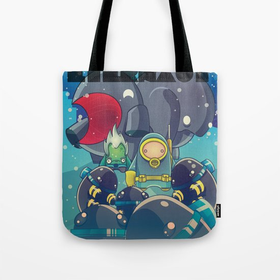 The Eternaut Tote Bag