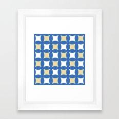 Floor tile 4 Framed Art Print