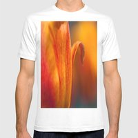 Tulip Bends Mens Fitted Tee White SMALL